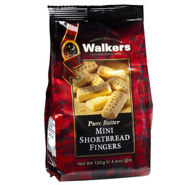 Walkers Pure Butter Mini Shortbread Fingers - 125g