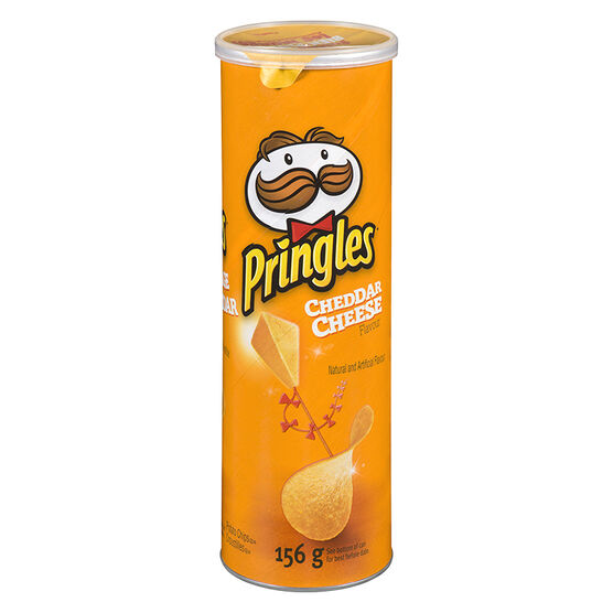 Pringles Potato Chips - Cheddar Cheese - 156g