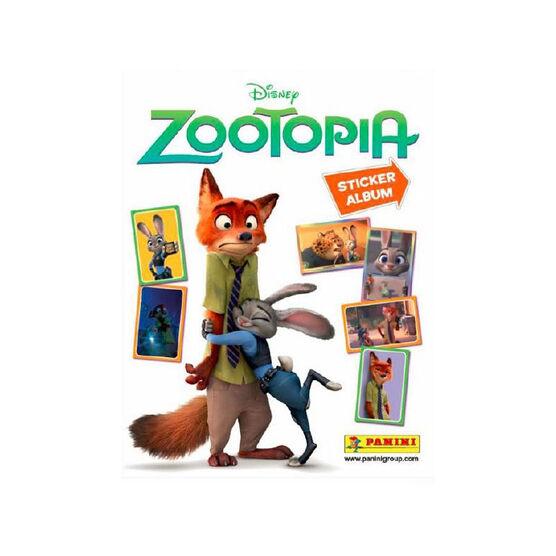 2016 Zootopia Sticker Album