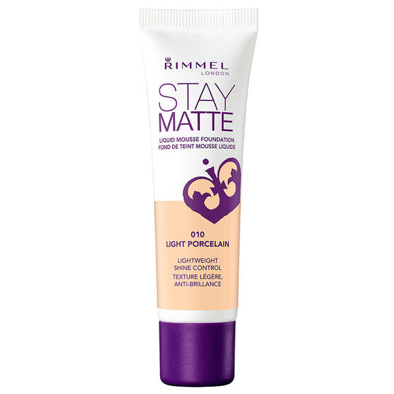 Rimmel Stay Matte Foundation - 010 Light Porcelain