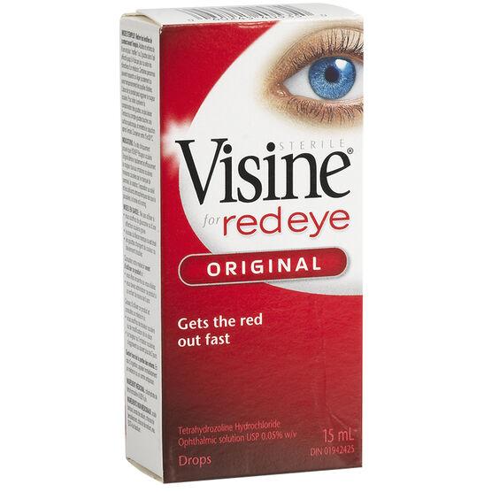 Visine Eye Drops - Original - 15ml