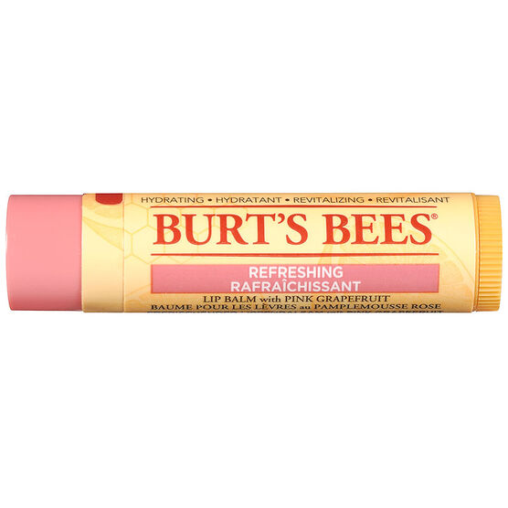 Burt's Bees Refreshing Lip Balm with Pink Grapefruit - 4.25g