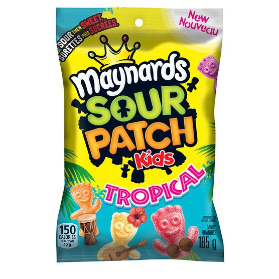 Maynards Sour Patch Tropical - 185g
