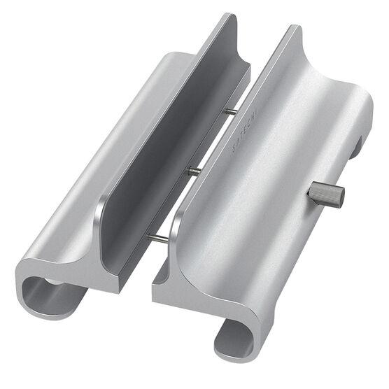 Satechi Universal Vertical Aluminum Laptop Stand - Silver - ST-ALVLSS