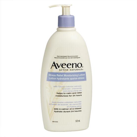 Aveeno Stress Relief Moisturizing Lotion - 532ml