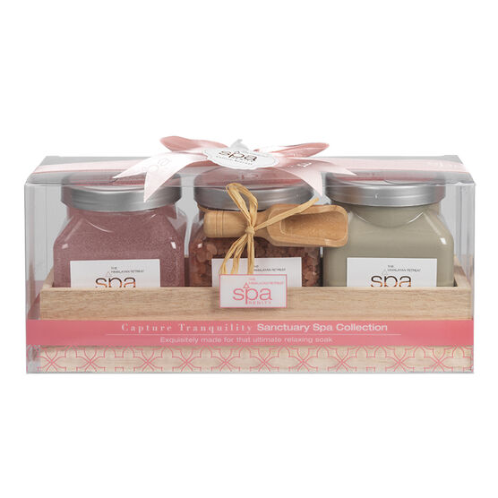 SpaRenity Sanctuary Spa Collection - Capture Tranquility - 3 piece