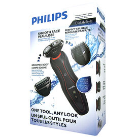 Philips Click and Style Kit - Black/Red - YS534/17