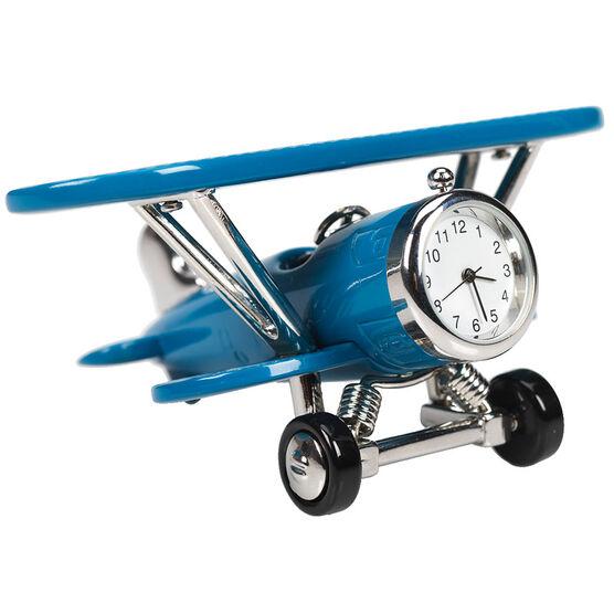 London Drugs Mini Clock - Airplane - 10.5 x 8 x 5cm