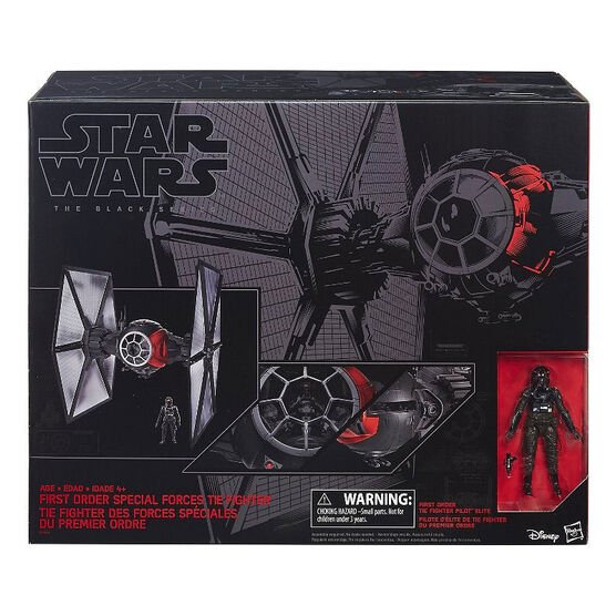 Star Wars E7 The Black Series Special Forces Tie Fighter Pilot - B3954