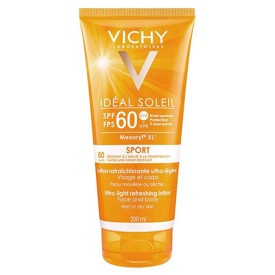 Vichy Ideal Soleil Sport - Ultra-Light Refreshing Lotion SPF 60 - 200ml