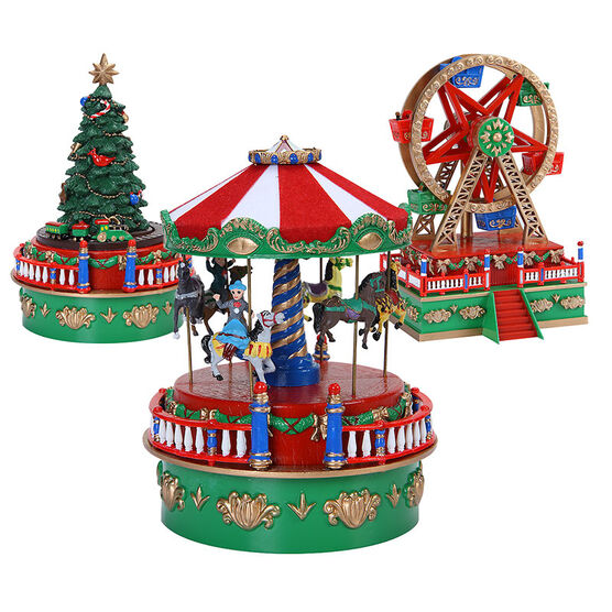 Mini Carnival Music Box - C19734 - Assorted