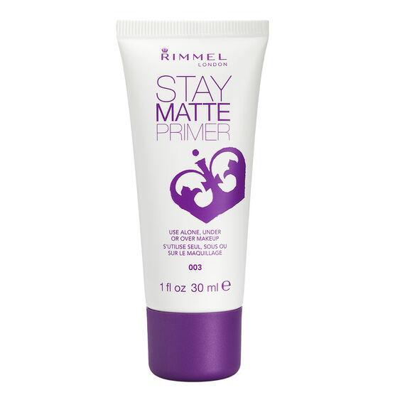 Rimmel Stay Matte Primer - 003 - 30ml