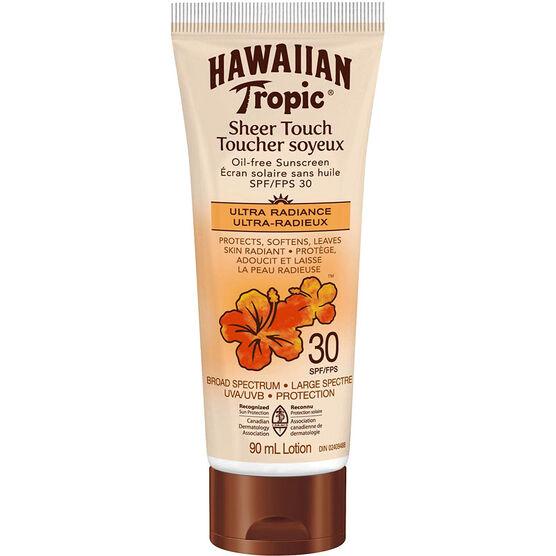 Hawaiian Tropic Sheer Touch Oil-Free Sunscreen Lotion - SPF30 - 90ml