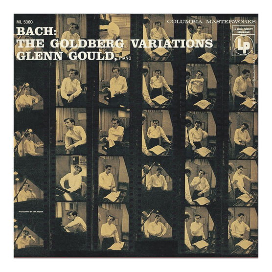 Glenn Gould - Bach: The Goldberg Variations (1955) - Vinyl