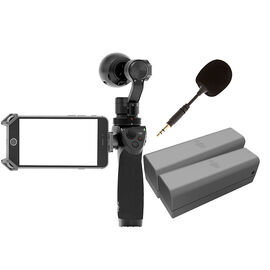 DJI Osmo 4K Camera with 2 Batteries and Flex Mic - PKG #24757