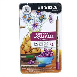 Lyra Aquarelle Watercolour Pencils - 12 pack
