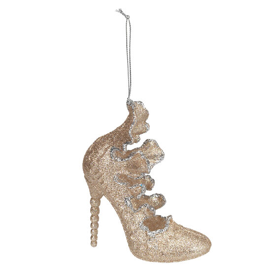 Rose Gold High Heel Ornament - 4.5in