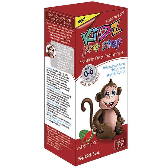 Kidz Pre Step Toothpaste - Watermelon - 92g