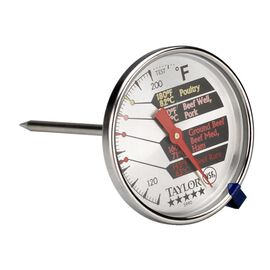 Taylor Stainless Steel Dial Meat Thermometer