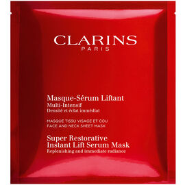 Clarins Super Restorative Instant Lift Serum Mask - 1 mask