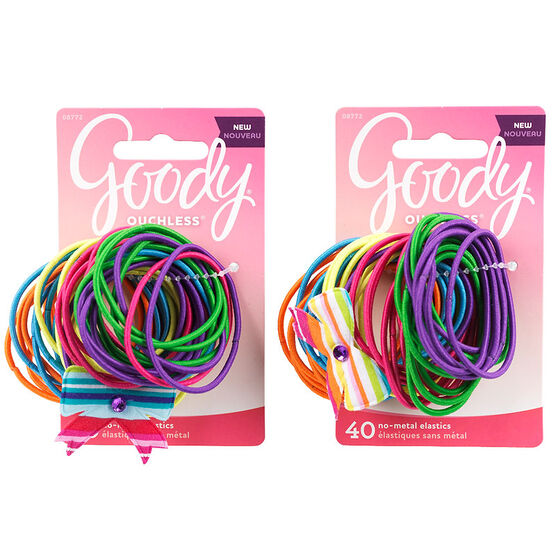 Goody Ouchless No Metal Elastics with Bow - 8772