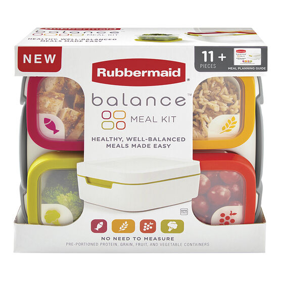 Rubbermaid Balance Meal Set - 11 piece