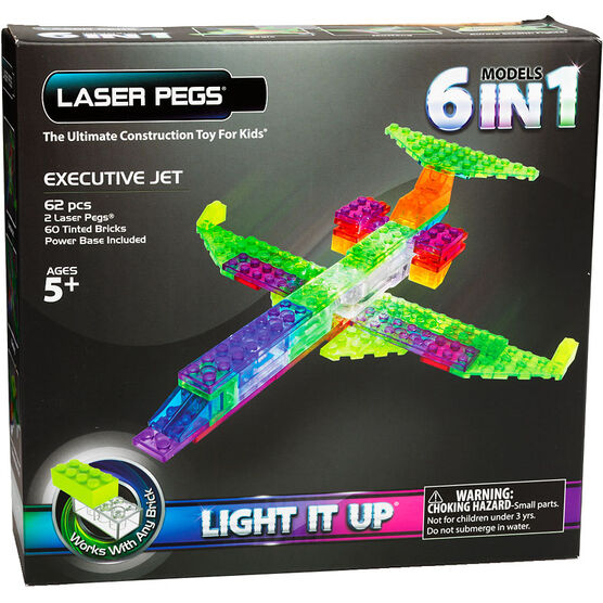 Laser Pegs Executive Jet Kit