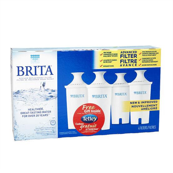 Brita Filter Replacements - 4's