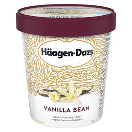 Haagen Dazs - Vanilla Bean - 500ml