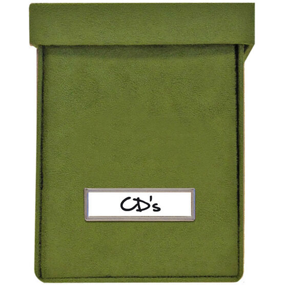 Vista CD Storage - Green - 3 Pack