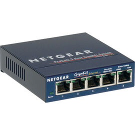 Netgear ProSAFE 5-Port Gigabit Desktop Switch - GS105