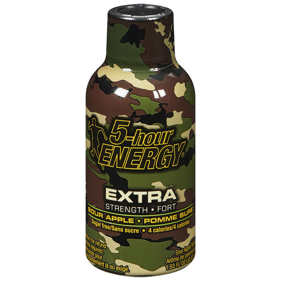 5-Hour Energy Shot Extra Strength - Sour Apple - 57ml