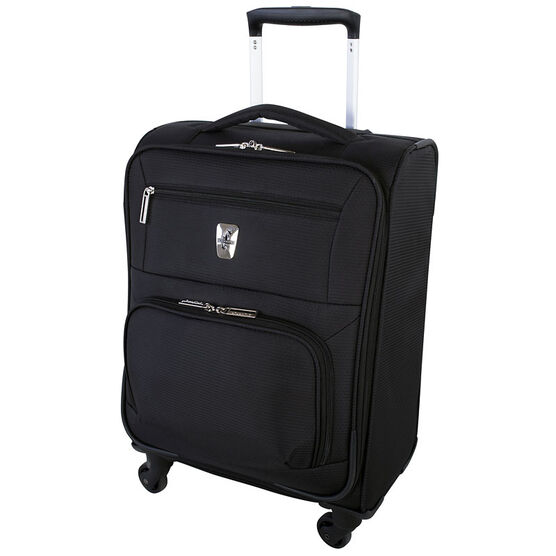 "Atlantic Glider Collection 18"" Softshell Luggage - Black"