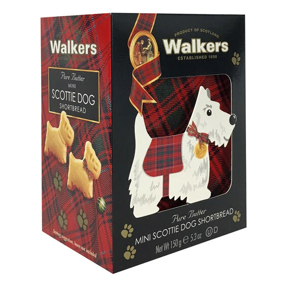 Walkers Mini Scottie Dog -Biscuits - 150g