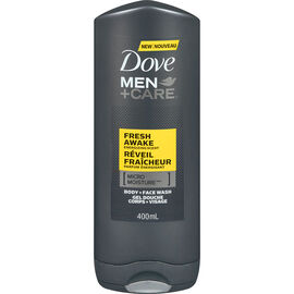 Dove Men+Care Fresh Awake Energizing Scent Body & Face Wash - 400ml