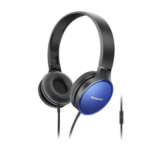 Panasonic On-Ear Headphones - Blue - RPHF300MA