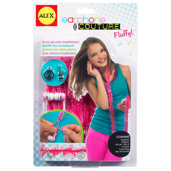 Alex Earphone Couture - Fluffy