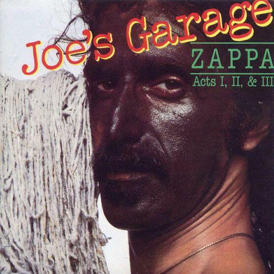 Frank Zappa - Joe's Garage Acts I, II & III - CD