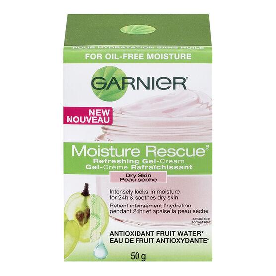 Garnier Moisture Rescue Refreshing Gel-Cream - Dry Skin - 50g