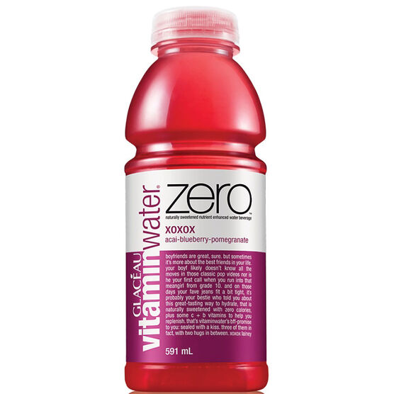 Vitamin Water Zero XOXOX- Acai Blueberry Pomegranate - 591ml
