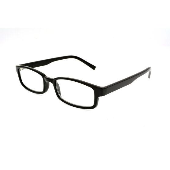 Foster Grant Carter Reading Glasses - Black - 1.25