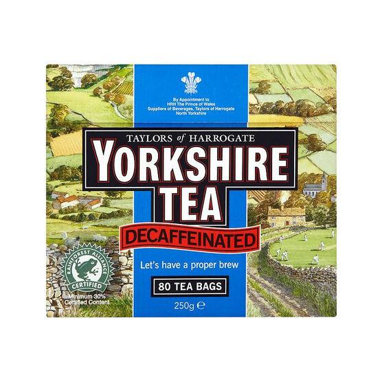 Yorkshire Decaf Tea - 80's