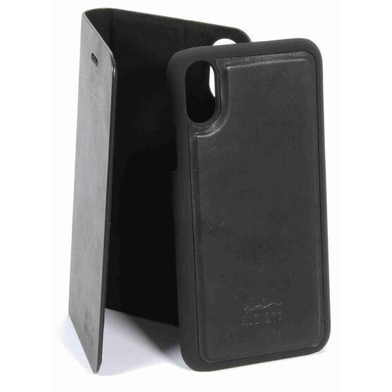 Roots Slim Folio Case for iPhone X - Black - RFIPXB