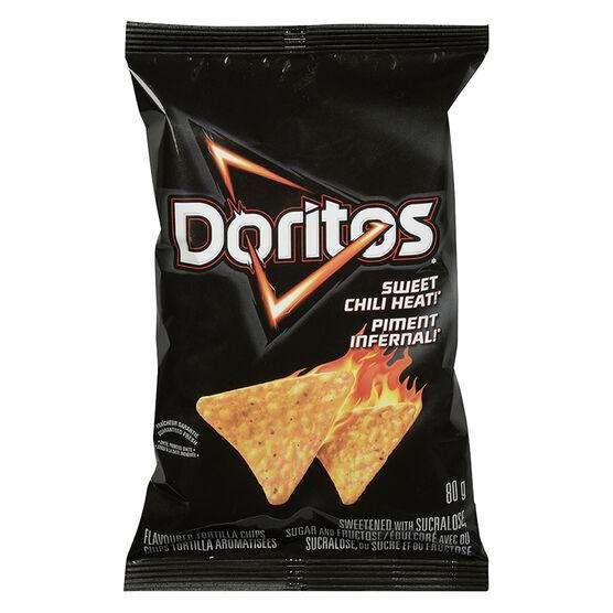 Doritos Tortilla Chips - Sweet Chili Heat - 80g