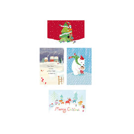 American Greetings Christmas Cards Deluxe - Whimsy - Assorted - 14 count