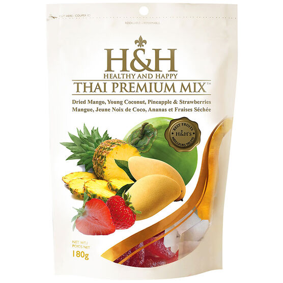 H&H Healthy and Happy  - Thai Premium Mix- 180g