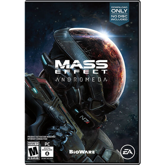 PC Mass Effect Andromeda - Standard Edition - Download Code In Box