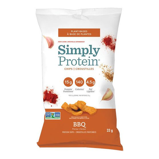 SimplyProtein Chips - BBQ Tomato - 33g