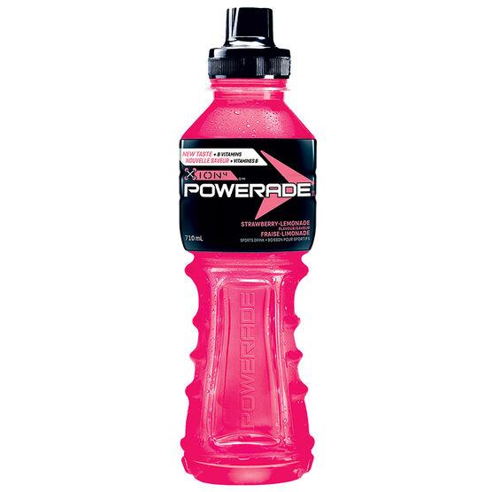 Powerade ION4 Sports Drink - Strawberry-Lemonade - 710ml