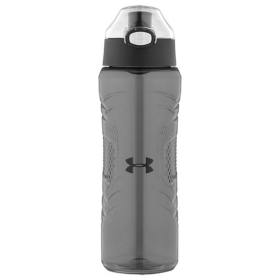 Under Armour® Draft - Tritan Bottle with Flip Top Lid - Charcoal Gray - 710ml